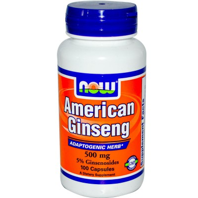 Ginseng Americano marca Now 500mg
